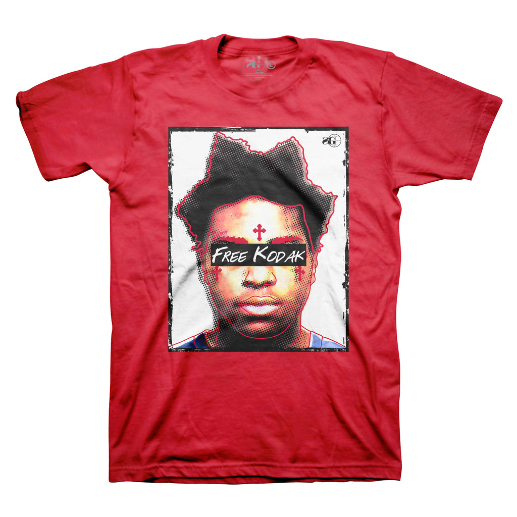 Free Kodak Tee - Red