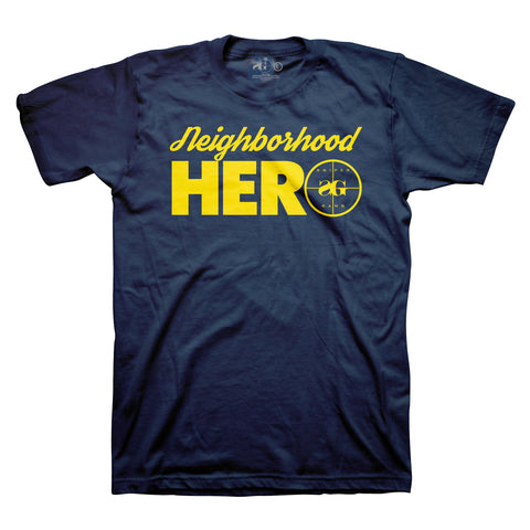Neighborhood Hero (Navy/Yellow)
