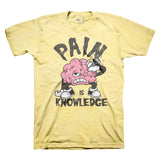 Pain Is Knowledge (Yellow)