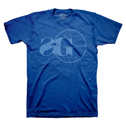 Sniper Gang Logo (On Point Blue)