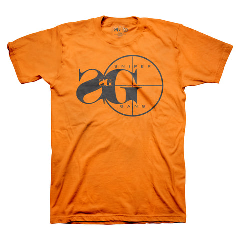 Sniper Gang Logo Orange