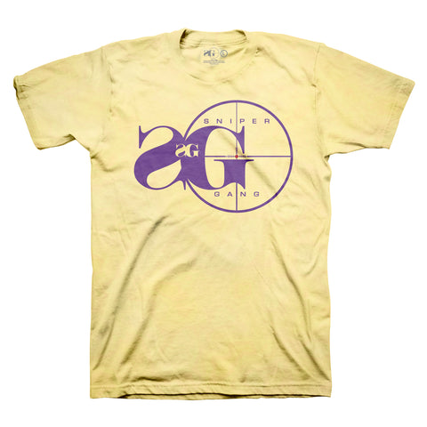 Sniper Gang Logo (Yellow/Purple)