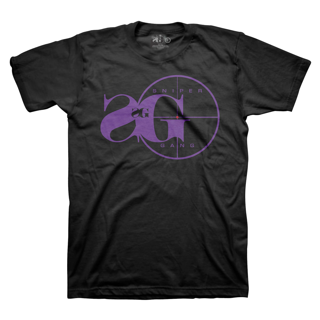 Sniper Gang Logo (BLK/Purple)