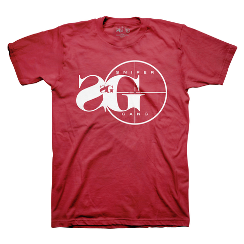 Sniper Gang Logo RED/WHT