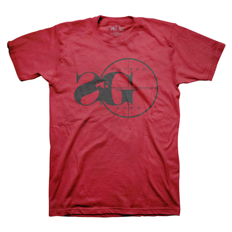 Sniper Gang Logo RED