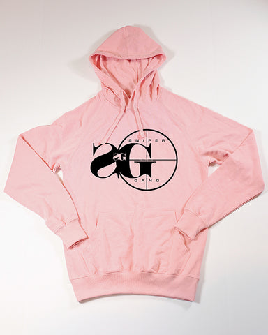 Heartless Hoodie (Pink - with back design)