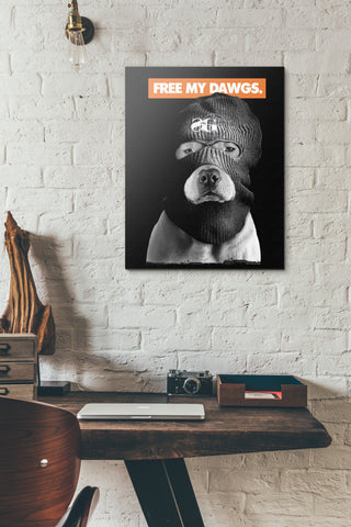 Free My Dawgs Art (Limited Edition)