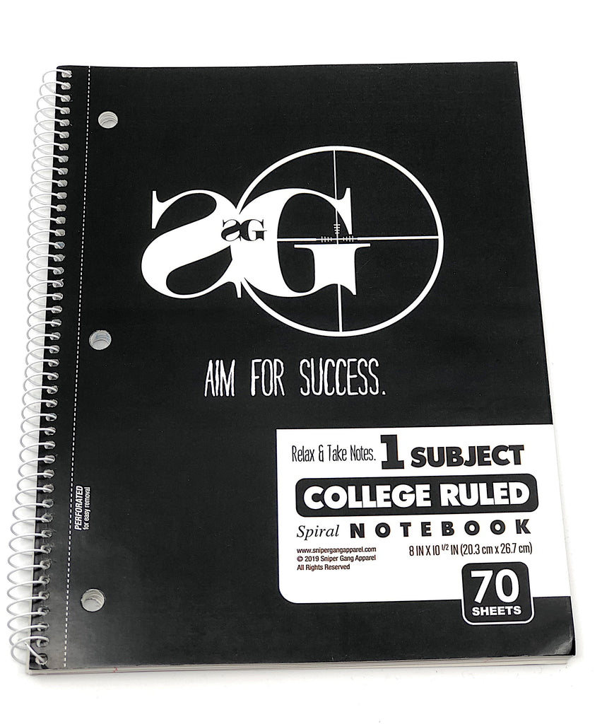 Aim For Success Pack (notebook + 2 pencils)
