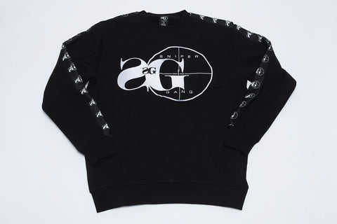 SG Ribbon Crewneck (Black)