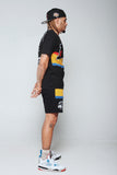 NFL Colorblock Shorts (Blk)