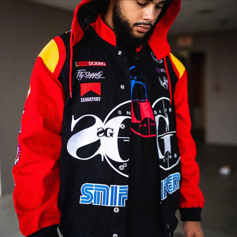 NASCAR V.2 Members Only Jacket (@FlySupplyCo Collab)