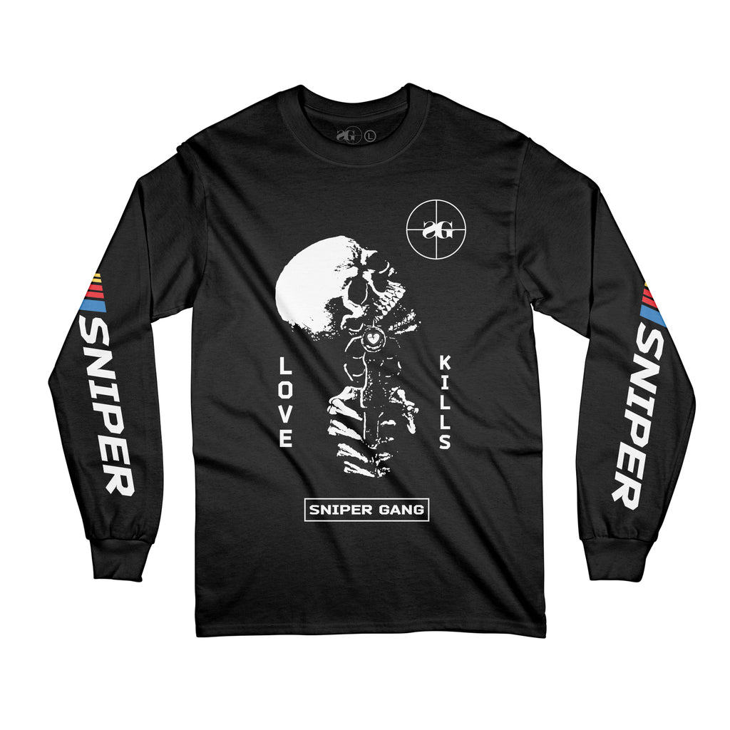 Love Kills Long Sleeve (BLK)