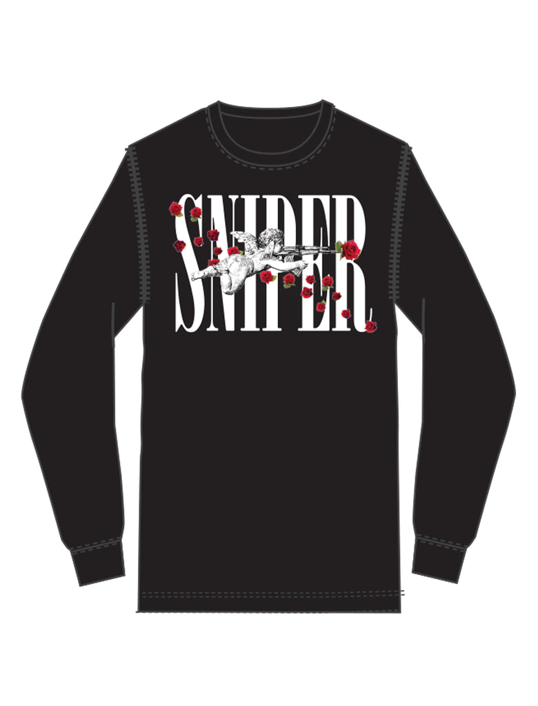 SNIPER ROSES LONG SLEEVE TEE
