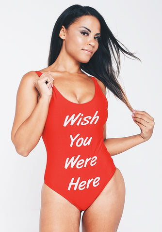 Swimsuit/Bodysuit - Wish You Were Here