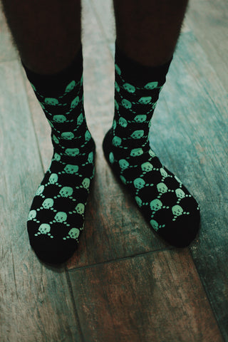 Socks: ZZZ (Glow in the dark)