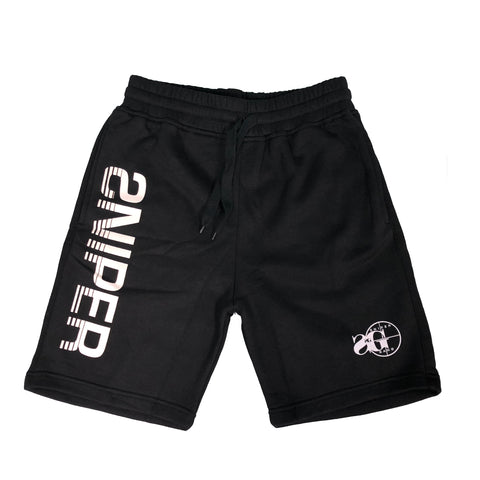 Sniper Sweat Shorts (BLK)