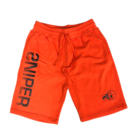 Sniper Sweat Shorts (Orange)