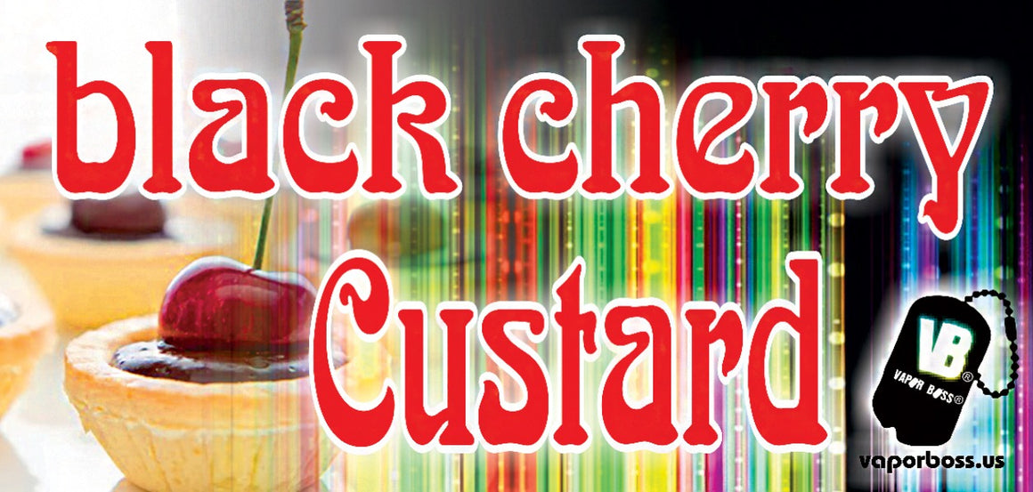 Black Cherry Custard