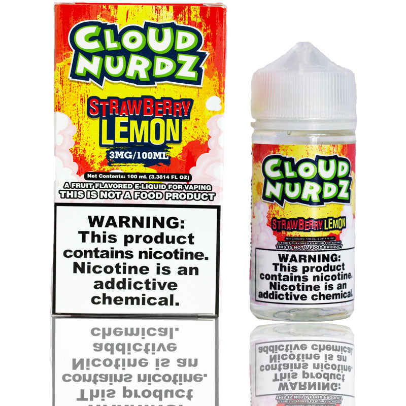 Cloud Nurdz Strawberry Lemon