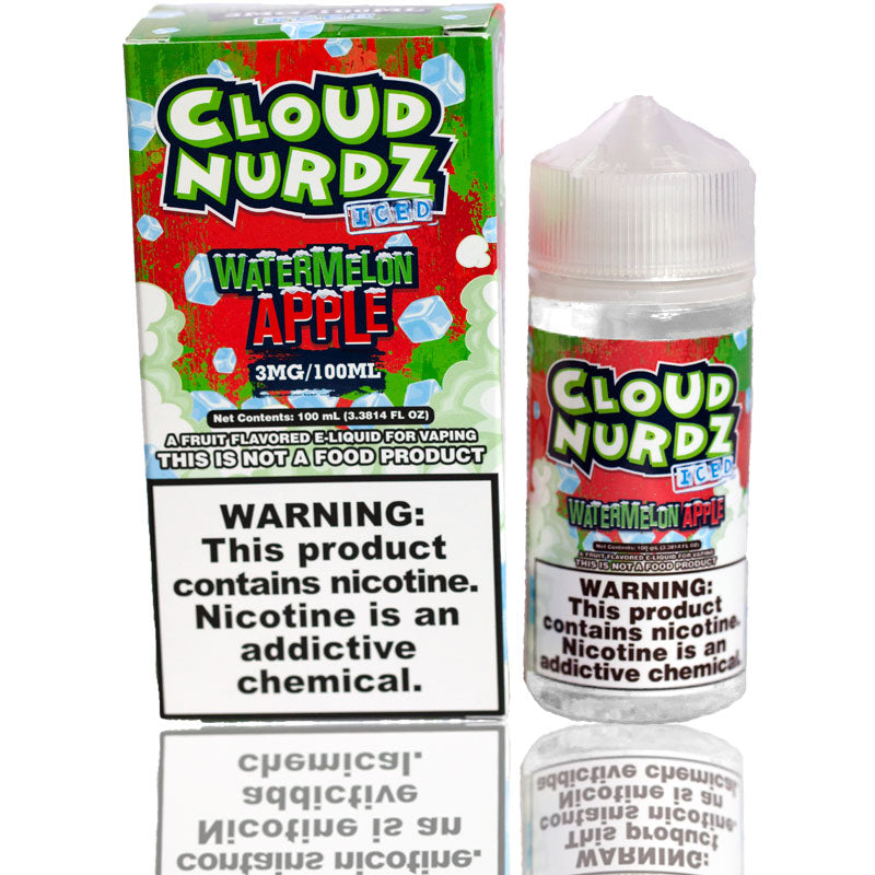 Cloud Nurdz Watermelon Apple Iced