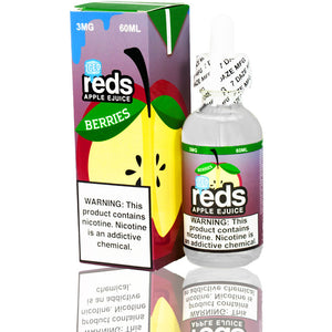 reds berries iced eJuice eLiquid