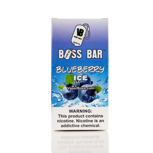 Blueberry Ice Boss Bar Wholesale