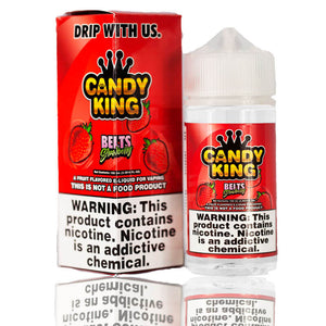 Candy King Belts Strawberry  |$10.80 | Fast Shipping