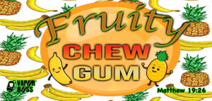 Fruity Chew Gum