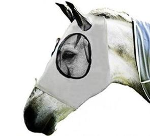 Nobel Steed Grey Horse Fly Mask With Ear