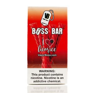I love Licorice Boss Bar Wholesale
