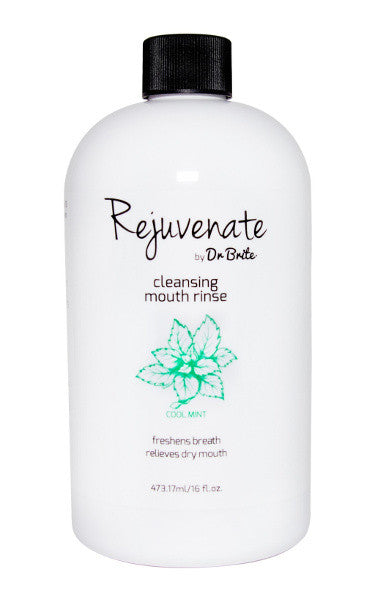 rejuvenate by dr brite natural cleansing mouth rinse mouthwash
