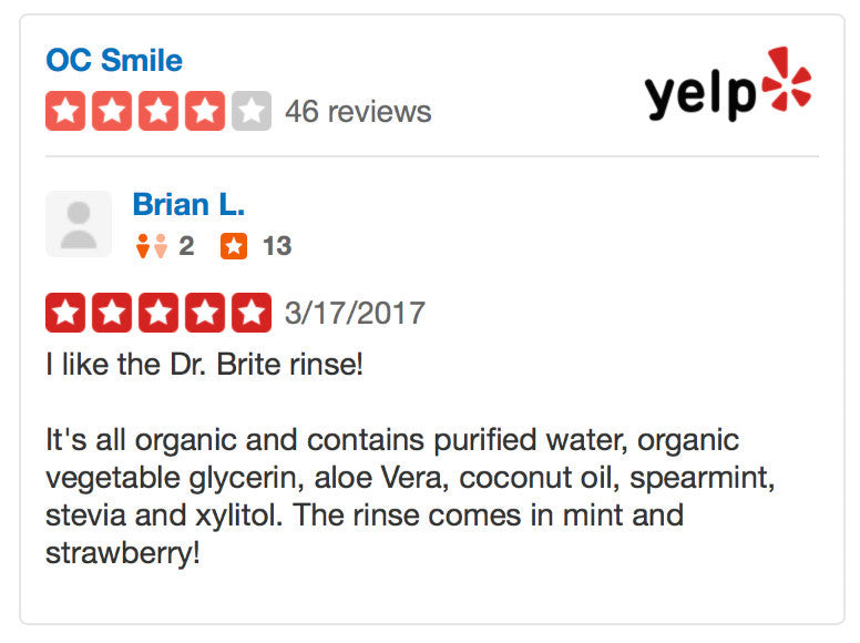 yelp review - rejuvenate by dr brite
