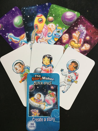 Outer Space - Create-a-Story Cards