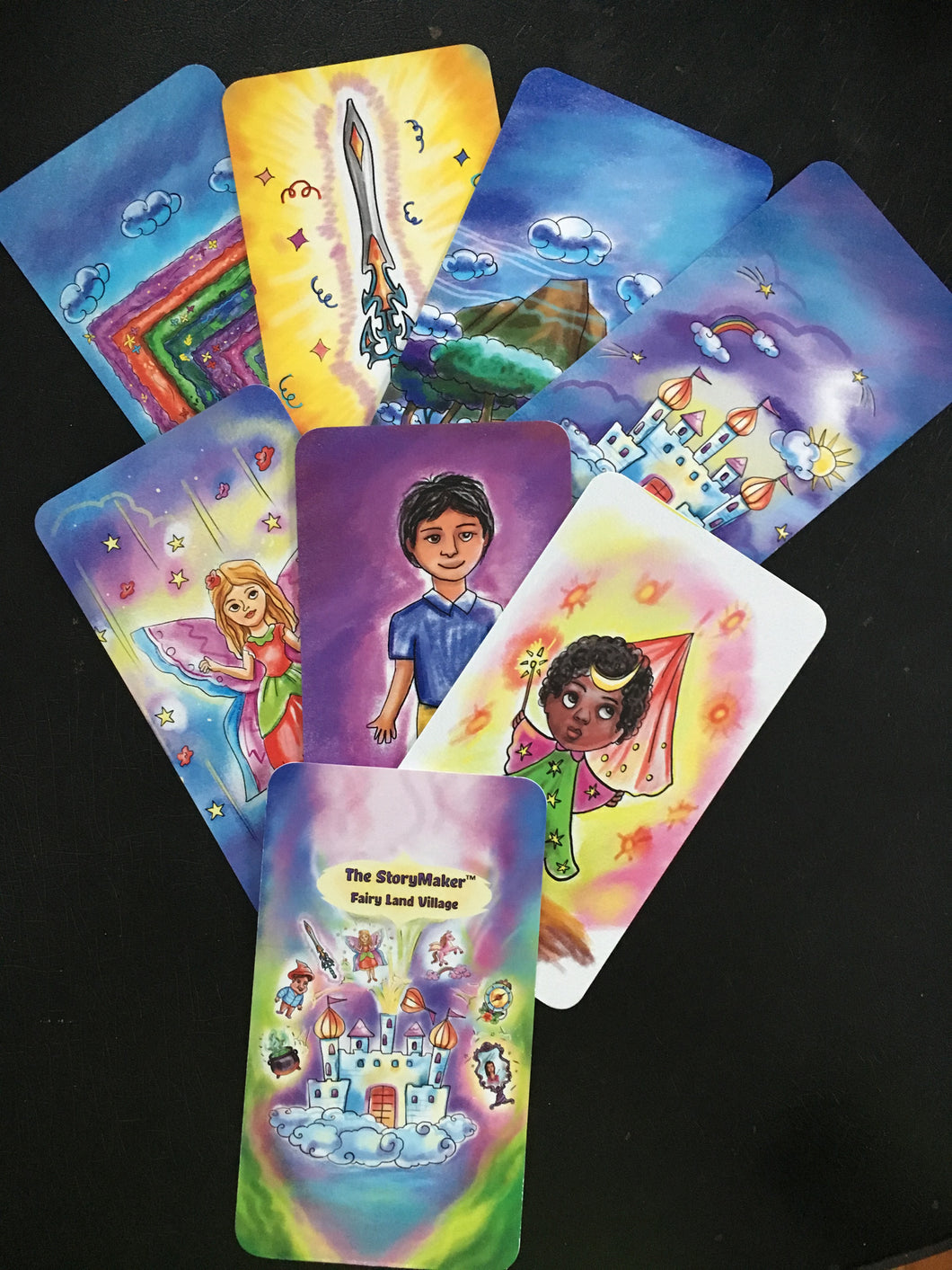 Create-a-Story Cards - Fairyland Village
