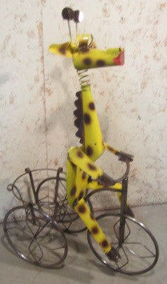Giraffe on Trike