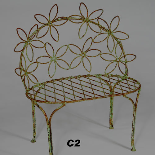 CHILD'S DAISEY BENCH