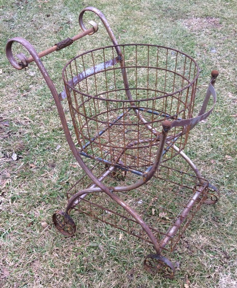 Double Basket Cart 36