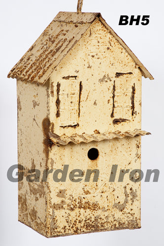 Double Bird House With Clean Out