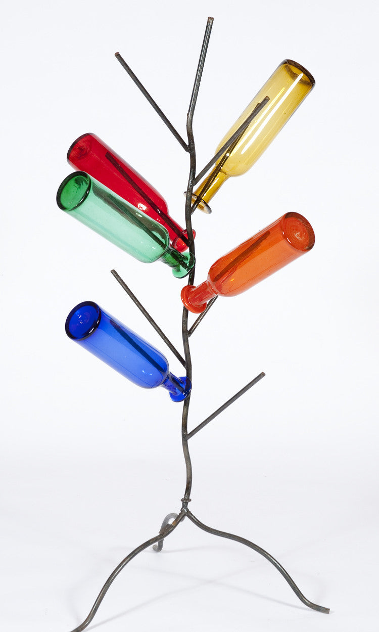 Empty Wine Bottle Tree