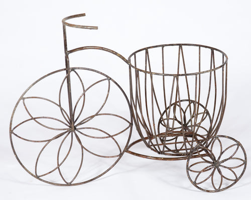 FLOWER TRIKE WITH DEEP BASKET