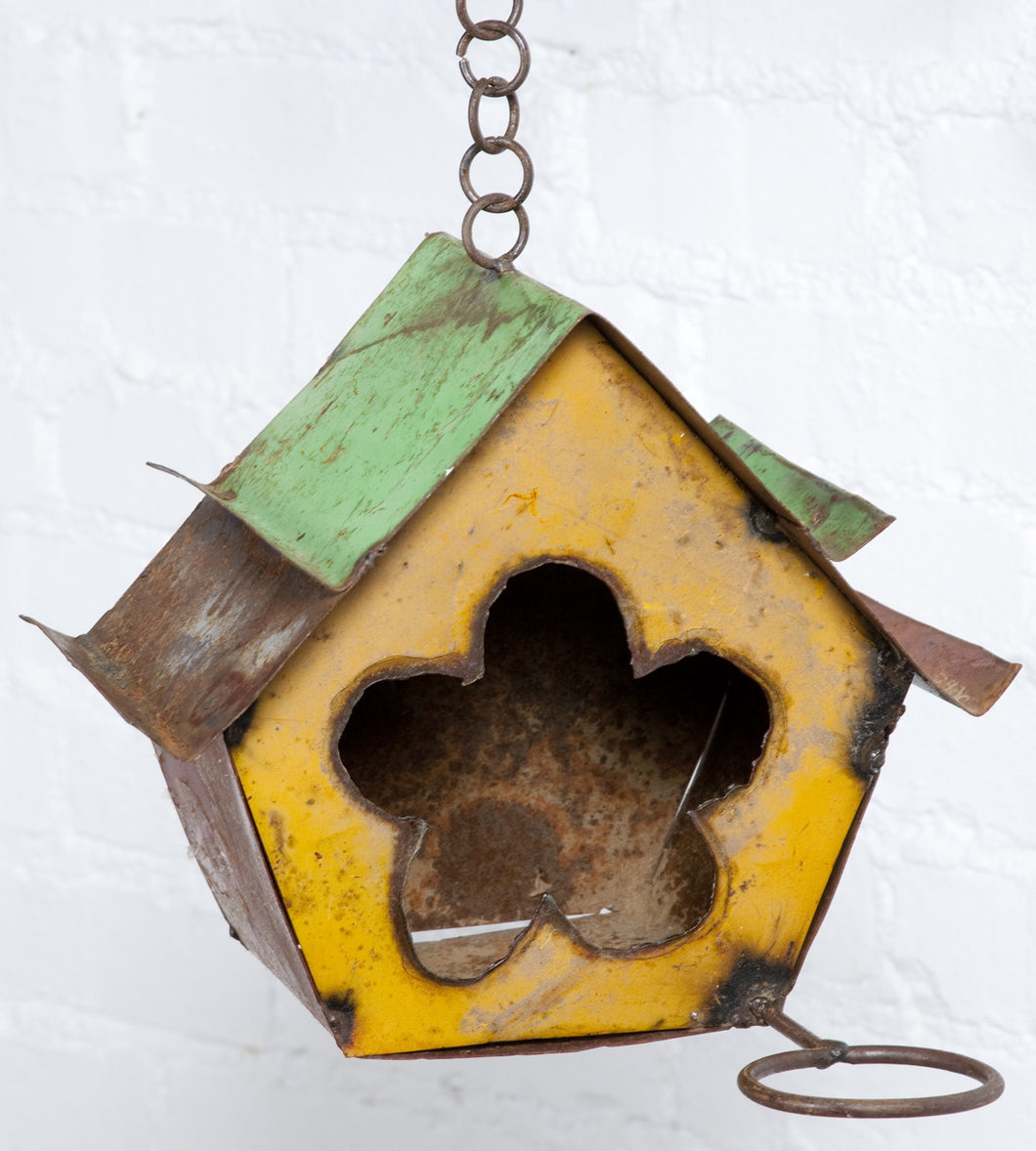 Flower Whole Bird House