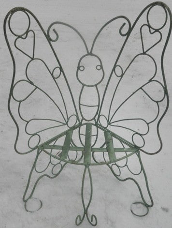 Full Figure Child's Butterfly Bench