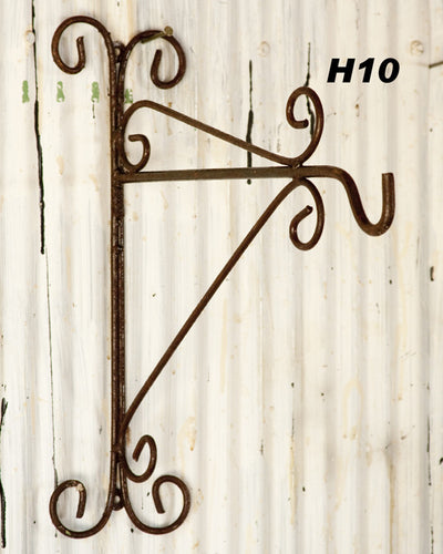 These Garden Planter Hooks are a must for the porch to hang your flower baskets or lanterns Measures 175
