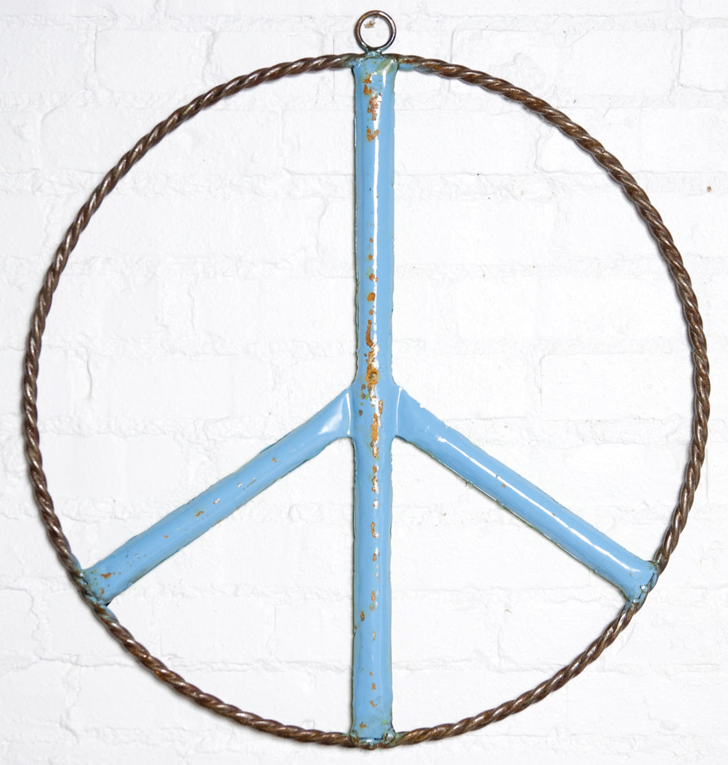 Peace Tin Sign