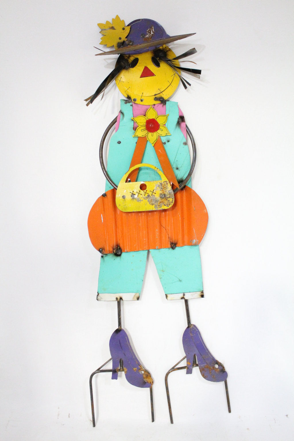 Scarecrow with Purse