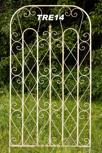 Scroll Trellis Round Steel