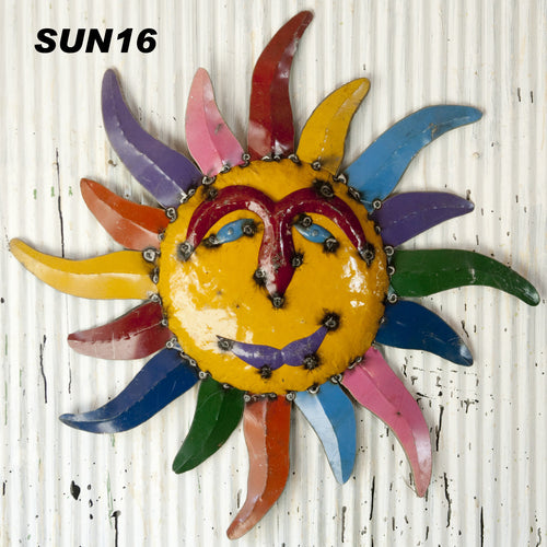 Re-Used Metal Bright Colors