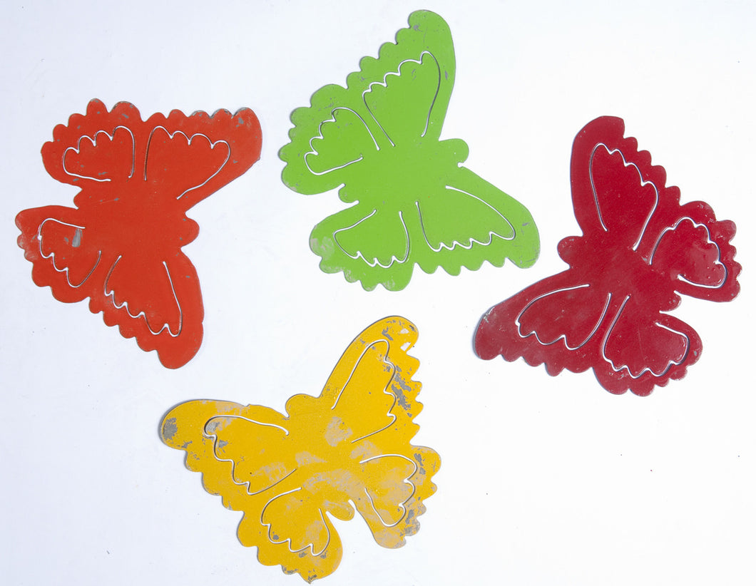 WALL HANGING BUTTERFLY EACH