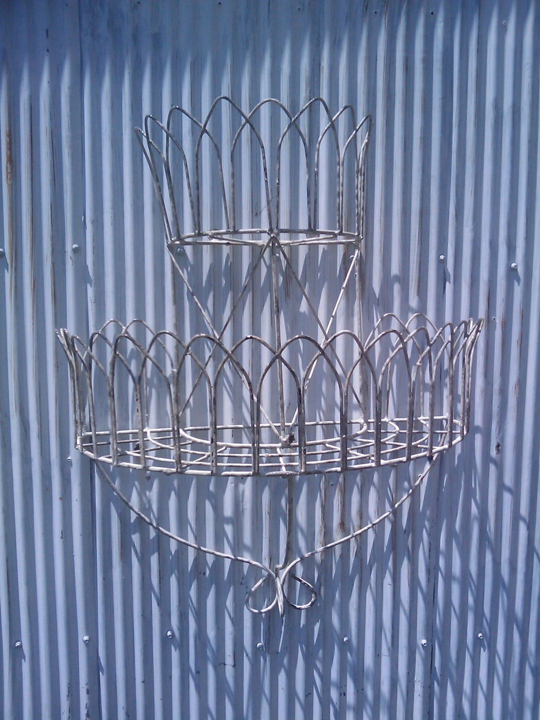 2 Tier Wall Basket