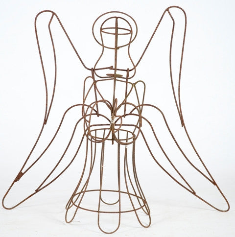 Wire Angel with Wings